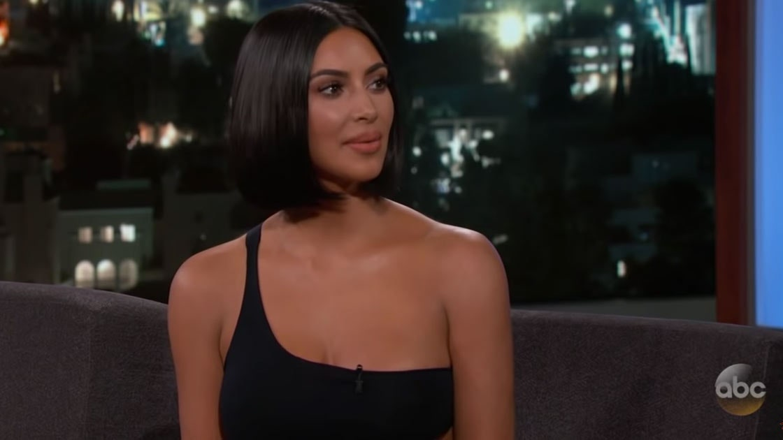 "8f3d89a1121de Kim Kardashian West Explains Kanye's Affection for Trump: ""He Likes His  Personality"" - Vogue"