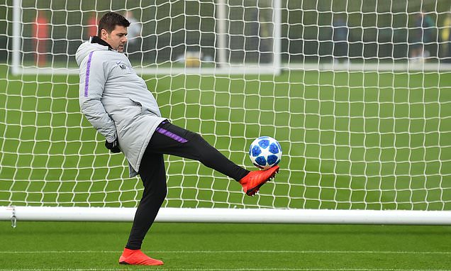 850901cb3 Mauricio Pochettino relishes chance of guiding Tottenham to Champions League  knockout stages