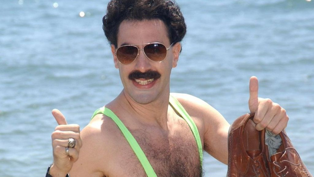 Cohen Offers To Pay Tourists For Borat Mankini Fines Baaz