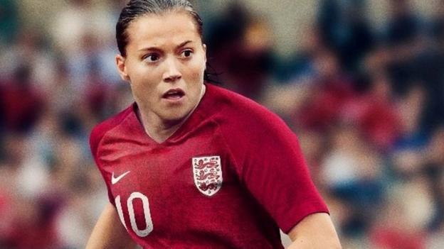 d91ac922c Women's World Cup 2019: England reveal specially designed kit - BBC Sport