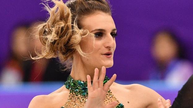 Winter Olympics Gabriella Papadakis Wardrobe Malfunction
