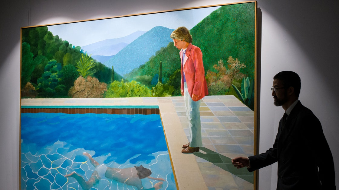 David Hockney, Painting, Auction | Baaz
