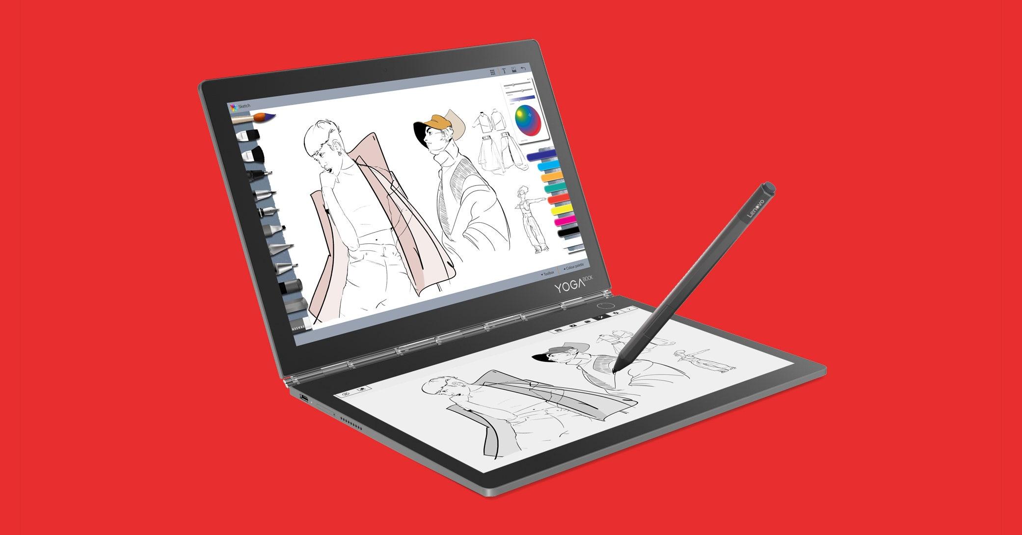 1d878dfcb41 Lenovo s Yoga Book C930 Redefines a Travel Laptop