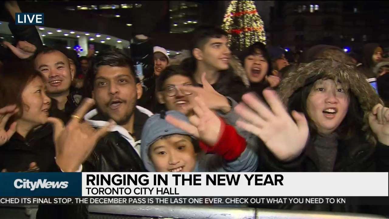 Toronto, #NewYear, #NathanPhillipsSquare   Baaz