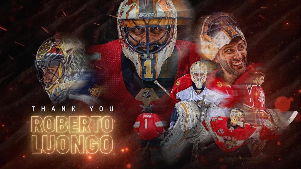 Roberto Luongo Retirement Announcement Baaz