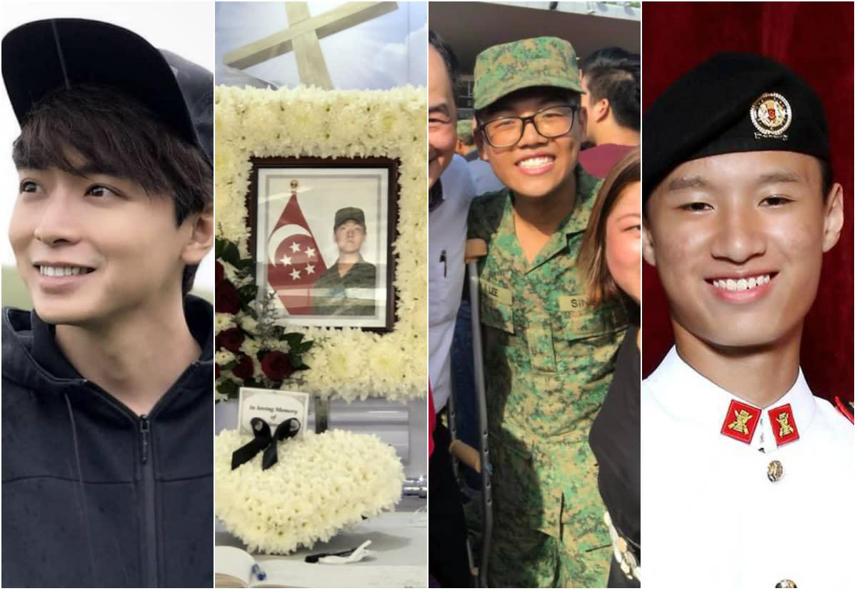 Aloysius Pang Military Funeral Baaz