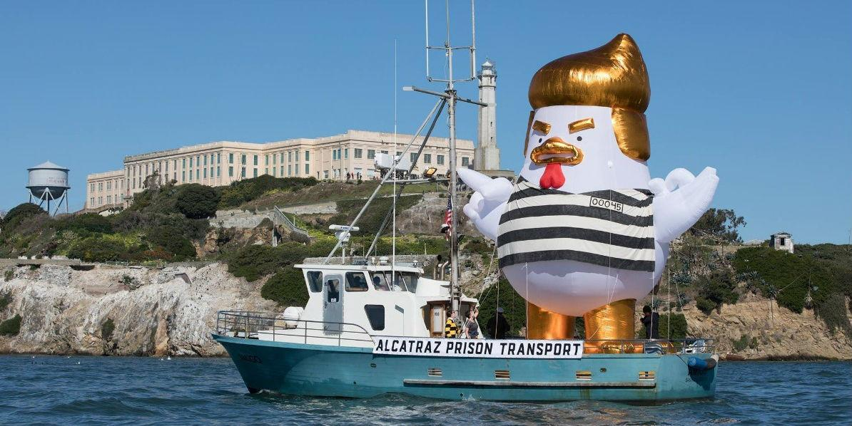 San Fransisco Trump En Sailing