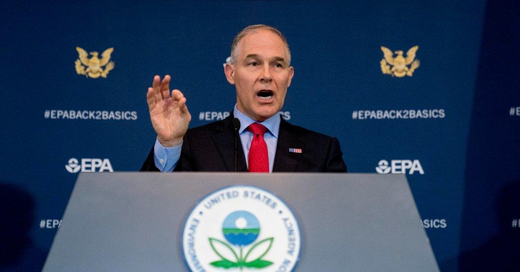 EPA, Campaign, Scott Pruitt | Baaz