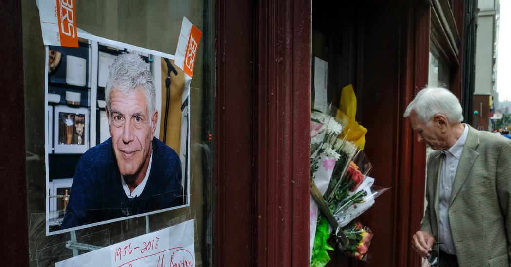 Anthony bourdain french village suicide baaz