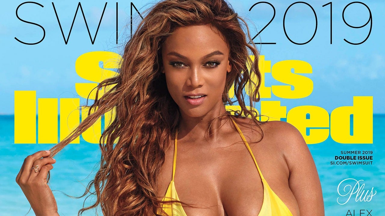 b62c6138756 Tyra Banks Cries Remembering Iconic 1997 'Sports Illustrated' Cover, Pays  It Forward in 2019 Shoot (Exclusive)   Entertainment Tonight